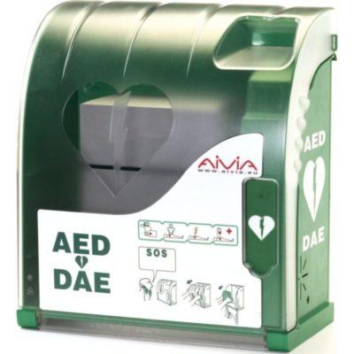 Aivia 200 - Armoire extérieure avec chauffage et alarme